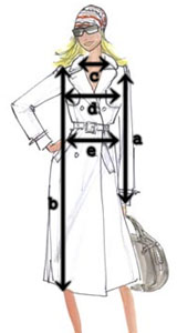 Wymiary odzieży Japan Style